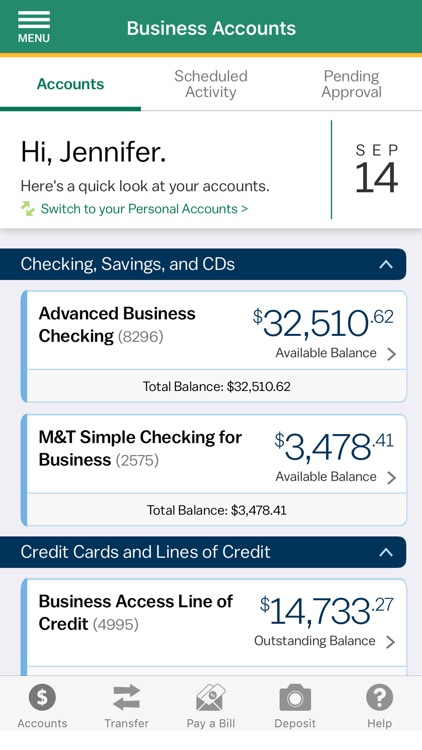 M&T Mobile Banking screenshot-2