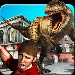 Dinosaur Attack City Hunting 2017