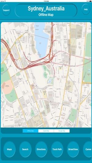 Sydney Australia Map City.Sydney Australia City Offline Map Navigation Egate On The App Store