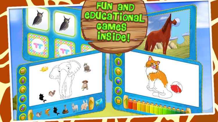 Animals Zoo - Interactive Flash Cards for Kids