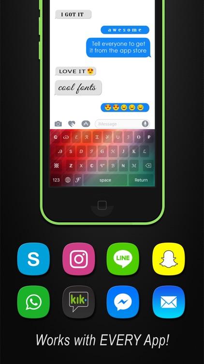 Cool Fonts Keyboard Pro- Custom Themes and Skins screenshot-4