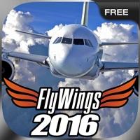 Flight Simulator FlyWings Online 2016 Free on PC: Download