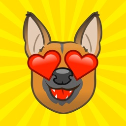 GerMoji - German Shepherd Emojis & Stickers!