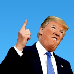 Crazy Trump Stickers
