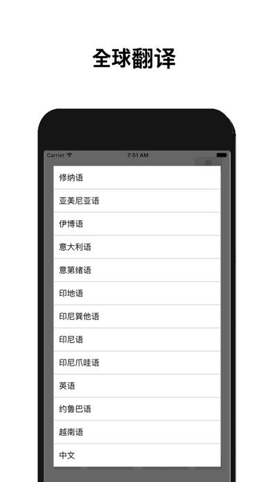 全球翻譯 ( 104 語言支持 )屏幕截圖2