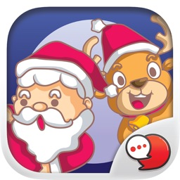 Happy Santa Stickers for iMessage