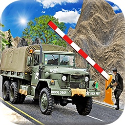Military Soldier Truck Drive