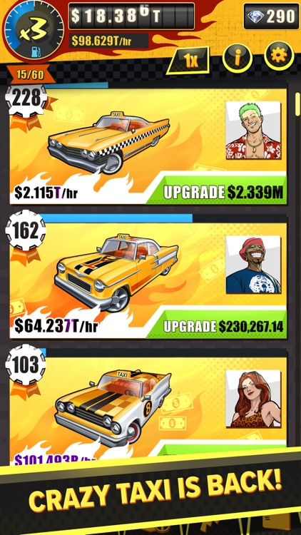 Crazy Taxi Gazillionaire screenshot-1