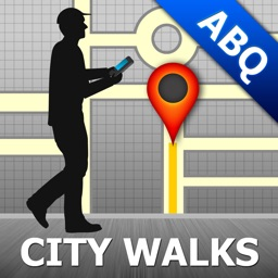 Albuquerque Map and Walks, Full Version