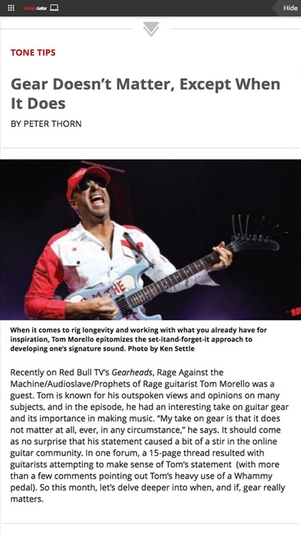 Premier Guitar Magazine screenshot-3