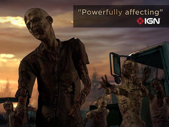 Ipad Screen Shot The Walking Dead: A New Frontier 4