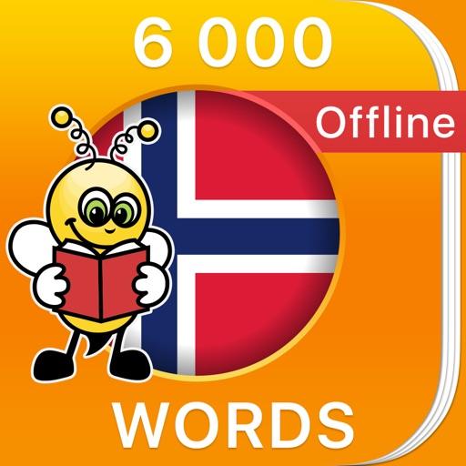 6000 Words - Learn Norwegian Language & Vocabulary