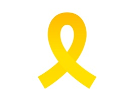 The yellow ribbon is an unforgettable memory to us