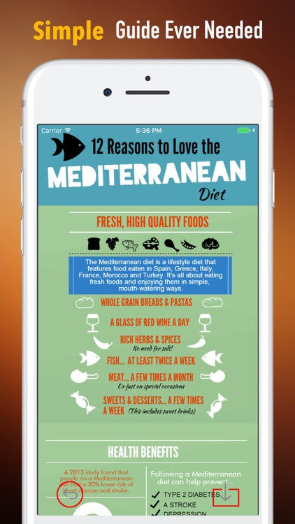 Mediterranean Diet-Delicious Recipes and Meal Plan screenshot-1