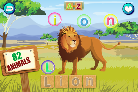 Animal Words(PRO): Educational Sight&First words screenshot 2