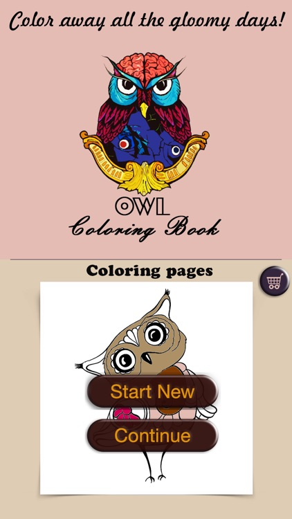 stress relieving coloring pages owls - photo#24