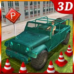 4x4 Jeep Parking Challenge - Prado Car Adventure