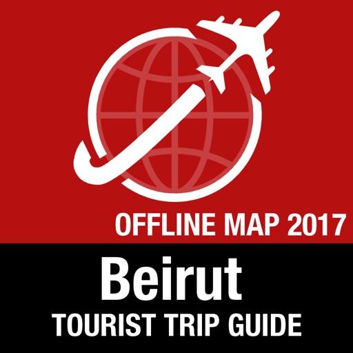 Beirut Tourist Guide + Offline Map