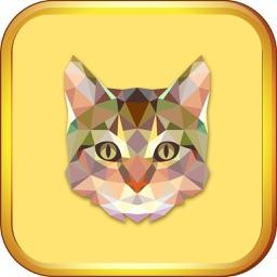 Kitten Cat Coloring Book for Kids Game Preschool