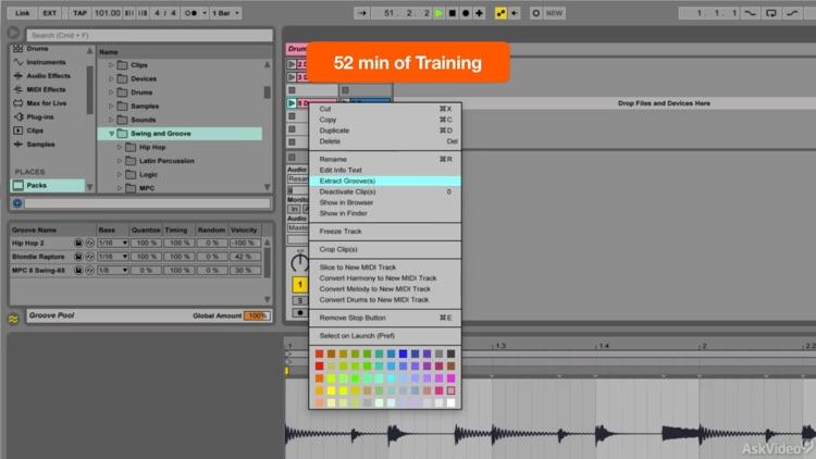 FastTrack™ For Ableton Live Groove Pool screenshot-4