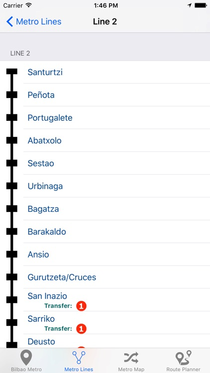Bilbao Metro screenshot-3