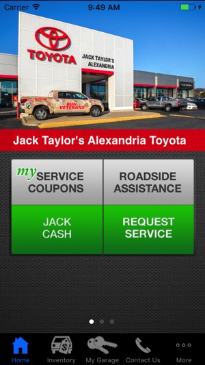 Jack Taylor Alexandria Toyota On The