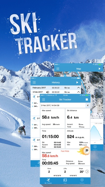 EXA Ski Tracker screenshot-2