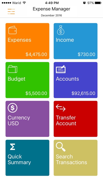 Express Expense Manager screenshot-0