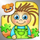 123 Kids Fun PUZZLE GREEN Best Kids Puzzle Games icon