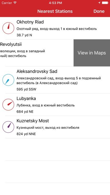 Metro Moscow (with MCC) + Petersburg screenshot-3