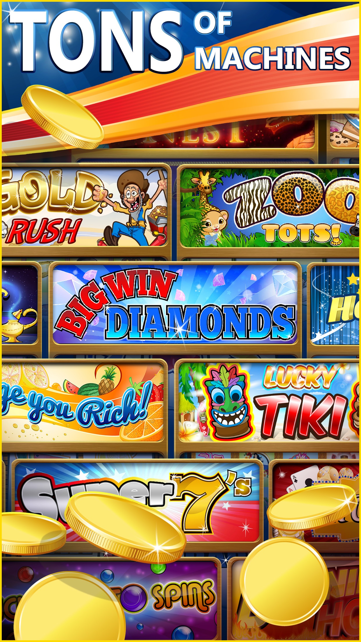 Big Win Slots™- New Las Vegas Casino Slot Machines Screenshot