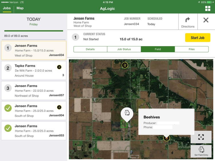 John Deere AgLogic™ screenshot-2