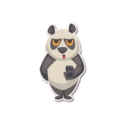 Panda - Stickers.