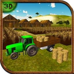 Village Tractor Driving Simulator