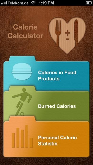 Calorie Calculator Pro review screenshots