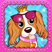Little Girl Pet Fashion! Princess Dress-Up For Kid