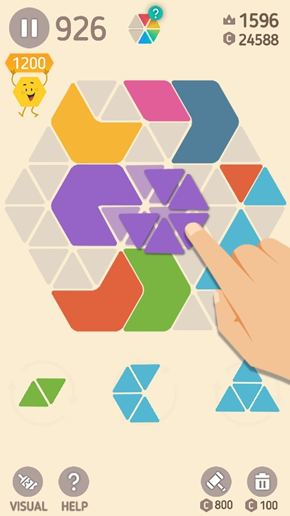 Make Hexa Puzzle screenshot-1