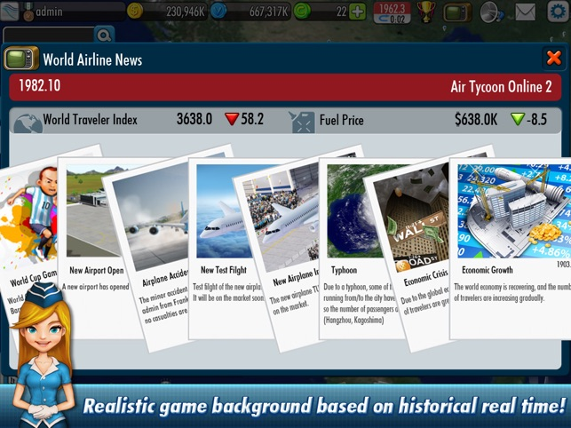 AirTycoon Online 2 Screenshot