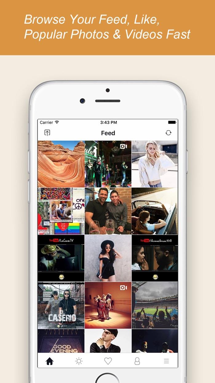 InstaSaver-Repost Photos and Videos For Instagram Screenshot