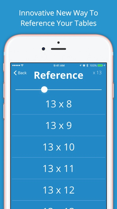 Multiplication Tables - Learn Times Tables! screenshot two