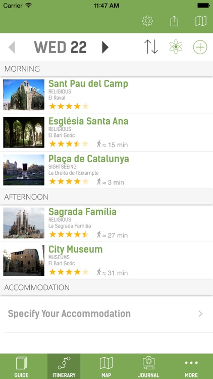 Barcelona Travel Guide (with Offline Maps) screenshot-1