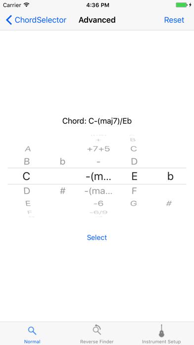 Fretter - Chordfinder screenshot four