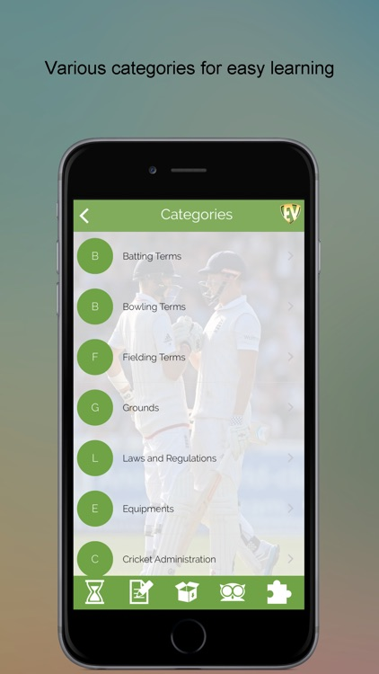 Cricket Dictionary PRO SMART Guide screenshot-1