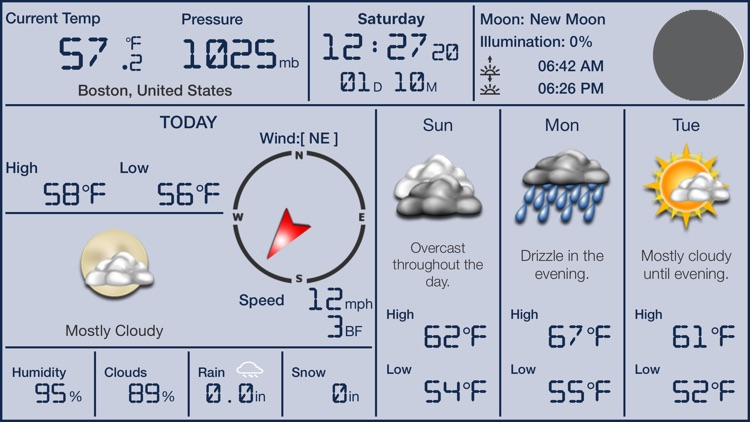 Local Digital Weather Station Pro screenshot-4