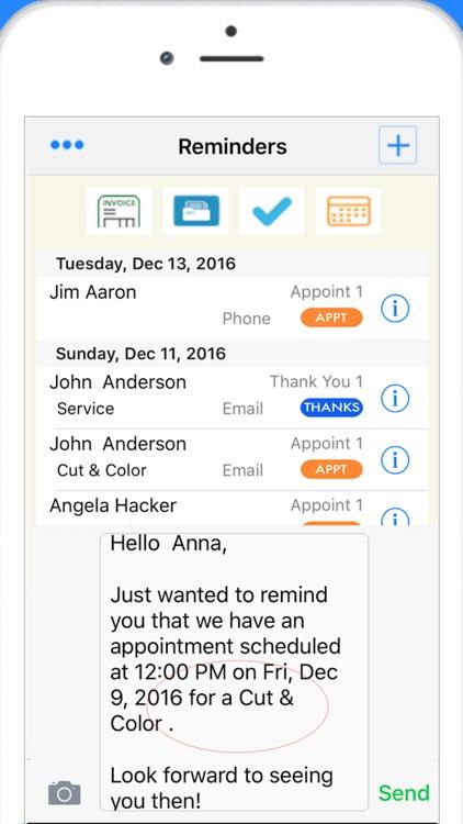 Scheduler Calendar & Invoicing screenshot-3