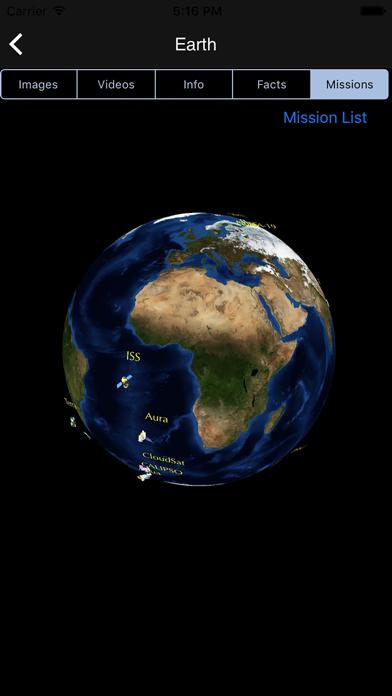 Screenshot 3 for NASA.gov's iPhone app'