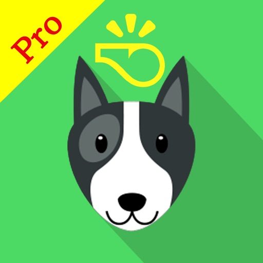 Dog Whistle Pro clicker training and stop barking - App