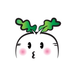 Fat Radish stickers by wenpei