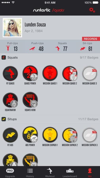 Squats Trainer & Workouts screenshot-4