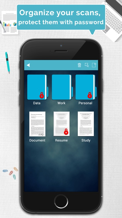 Tom Scanner Pro - PDF document scanner with OCR screenshot-4
